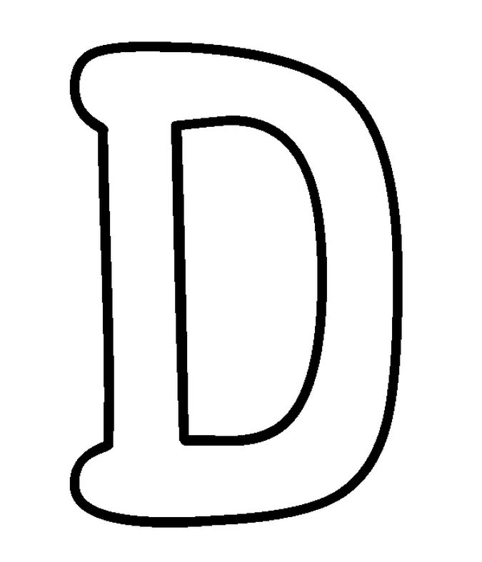 d bubble letter coloring pages - photo #41