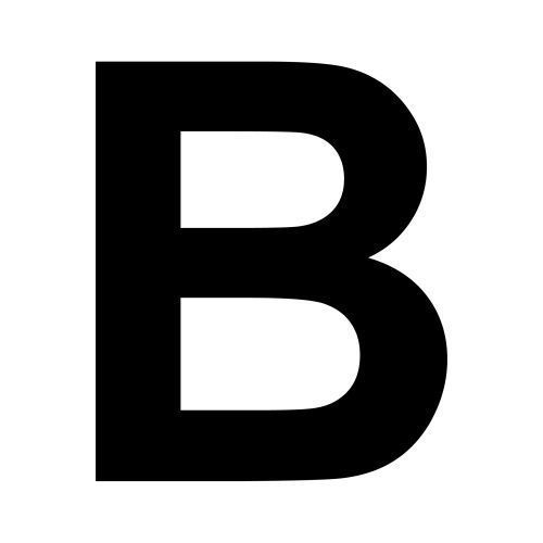 the b