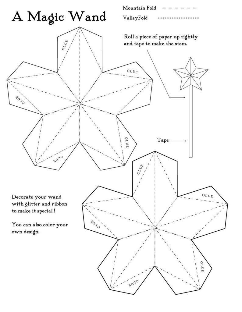 Moldes De Estrellas Para Imprimir