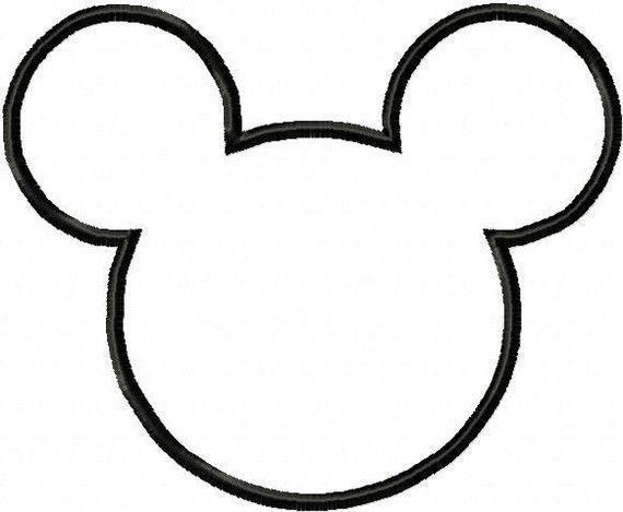 Moldes cara de Mickey Mouse | Moldes