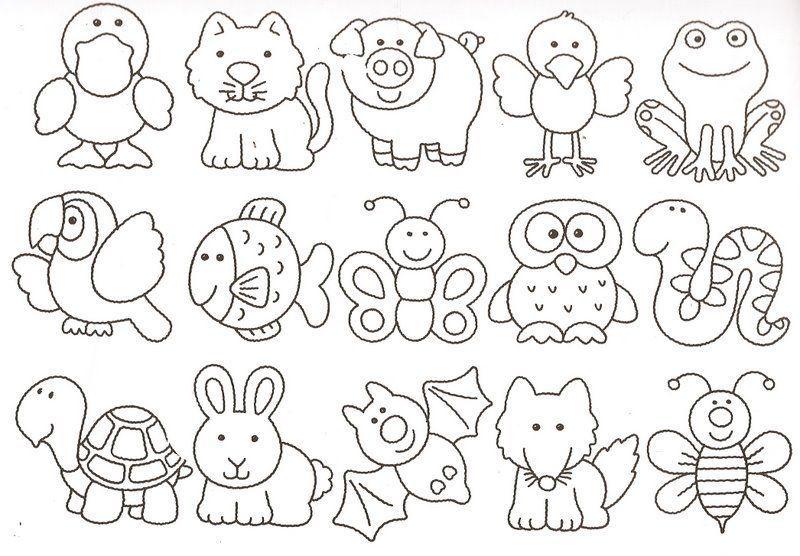 moldes-animales