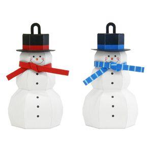 snowman_3D cartulina,