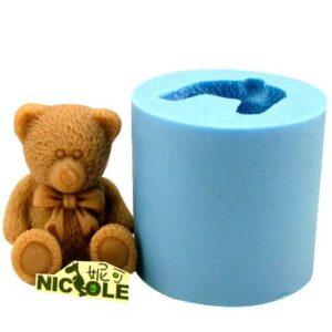 molde de oso 3d